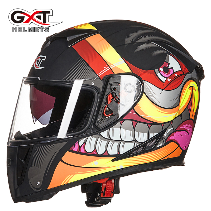 GXT High Quality Motorcycle Moto Helmet Full Face Racing Helmets Motorbike Winter Moto Casco Capacete
