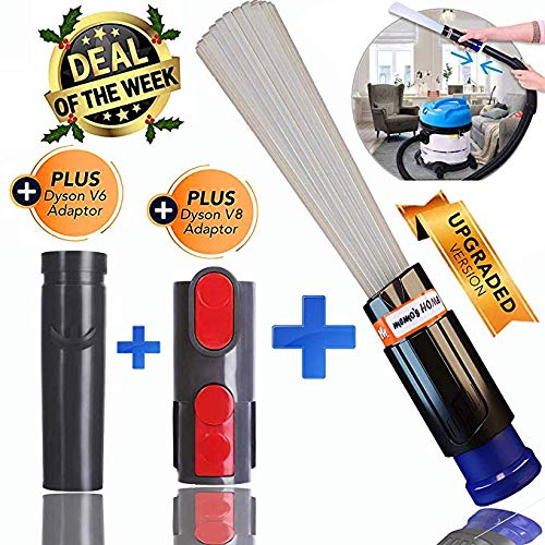 Cleaning Tool Attachment Brush Adaptor Set for Dyson V8 V10 V6 DC35 DC61 DC62 Vacuum Cleaner Dust Daddy Multi-functional Tool vacuum cleaner for sofa