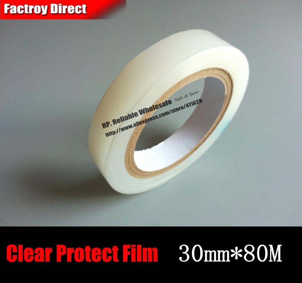 (30mm*80M) Transparent PE Film, Protective for Tablet, Mini Pad, Laptop Case Frame, Glass, Cellphone, GPS Screen лопата truper pcl pe 31174