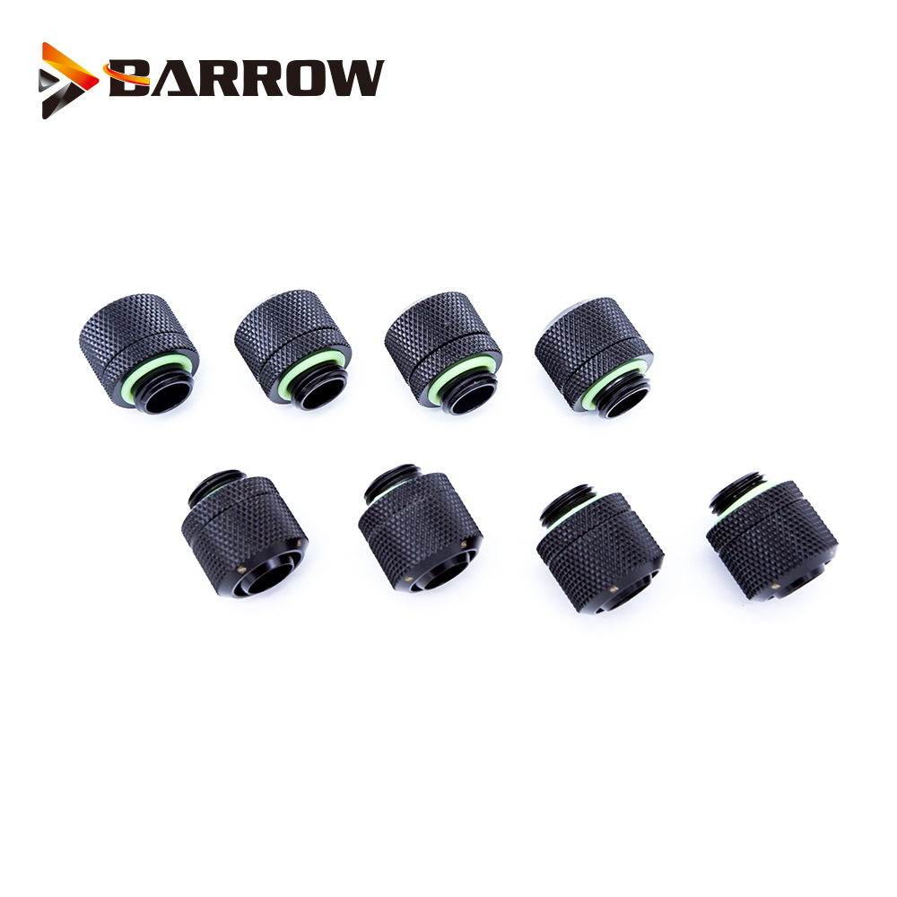 "8pcs/lot Hose Fitting Use For Inside Diameter 9.5mm + Outside Diameter 12.7 Soft Tube 3/8""ID X 1/2""OD Tubing Compression Fitting"