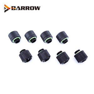 8pcs/lot Hose Fitting use for Inside Diameter 9.5mm + Outside Diameter 12.7 Soft Tube 3/8