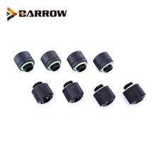 """Raccord de tuyau, 8 pièces/lot, pour diamètre intérieur 9.5mm + diamètre extérieur 12.7 Tube souple 3/8 """"ID X 1/2"""" OD, raccord de Compression"""