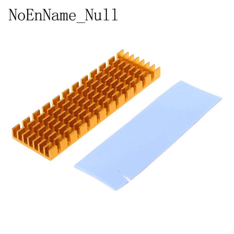 Heatsink Heat Dissipation Radiator M.2 NGFF Cooling Heat Sink Heat Thermal Pads For M.2 NGFF 2280 PCI E NVME SSD