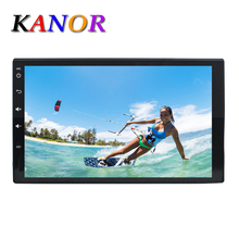 7 inch Full Touch Screen Car Video Player 2 din Universal Android 5.1.1 Quad-core Central Multimedia with GPS Navigation