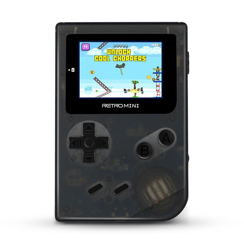 Купить с кэшбэком Cdragon Retro Portable Mini Handheld Game Console 8-Bit 3.0 Inch Color LCD Gaming Console  Kids  Game Player Built-in 40 games
