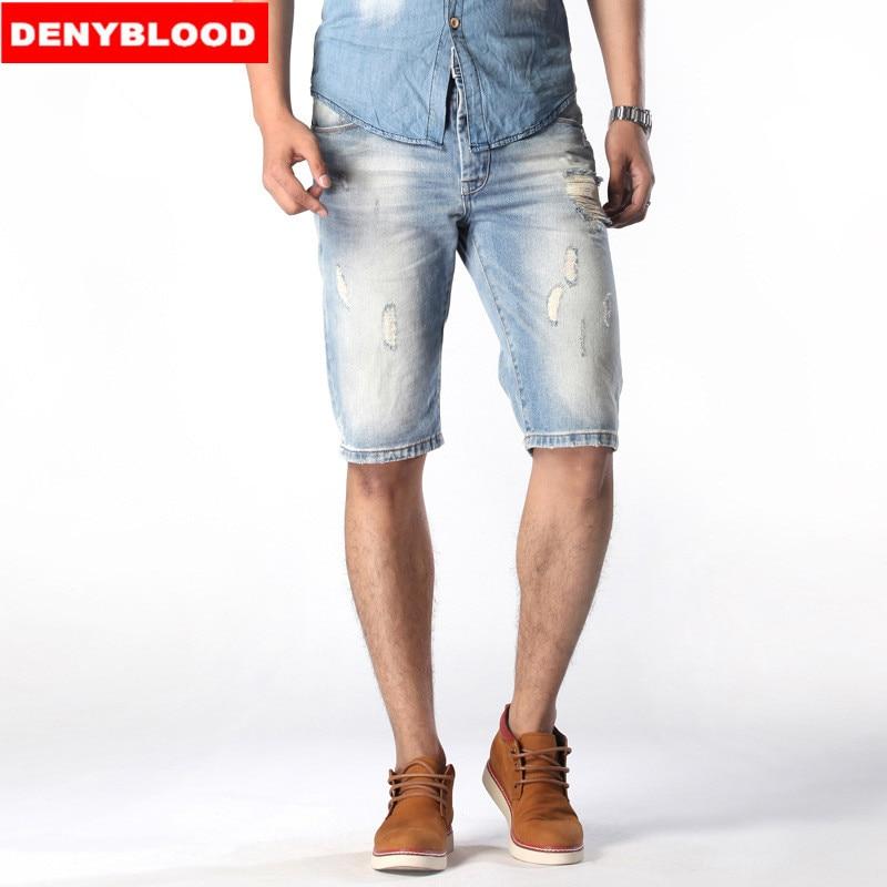 Popular Men Ripped Capri Jeans-Buy Cheap Men Ripped Capri Jeans ...