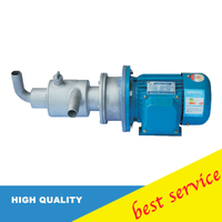 220v/380/50hz CG40 3 1.1 screw small stainless steel self priming pump for hot melt adhesive