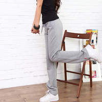 2016 Autumn Winter Women S Harem Pants Black Sweatpants Straight Casual Pants Women Hip Hop Pantalon
