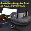 PROSOOL Polarizadas óculos de Sol Esportivos 5 Conjunto de Lentes Intercambiáveis para Andar de Bicicleta Ao Ar Livre Pesca Correndo Driving Gafas Oculos de sol