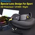 PROSOOL Polarizadas gafas de Sol Deportivas 5 Unidades Lentes Intercambiables para el Ciclismo Al Aire Libre Pesca Correr Conducción Gafas Gafas de Sol