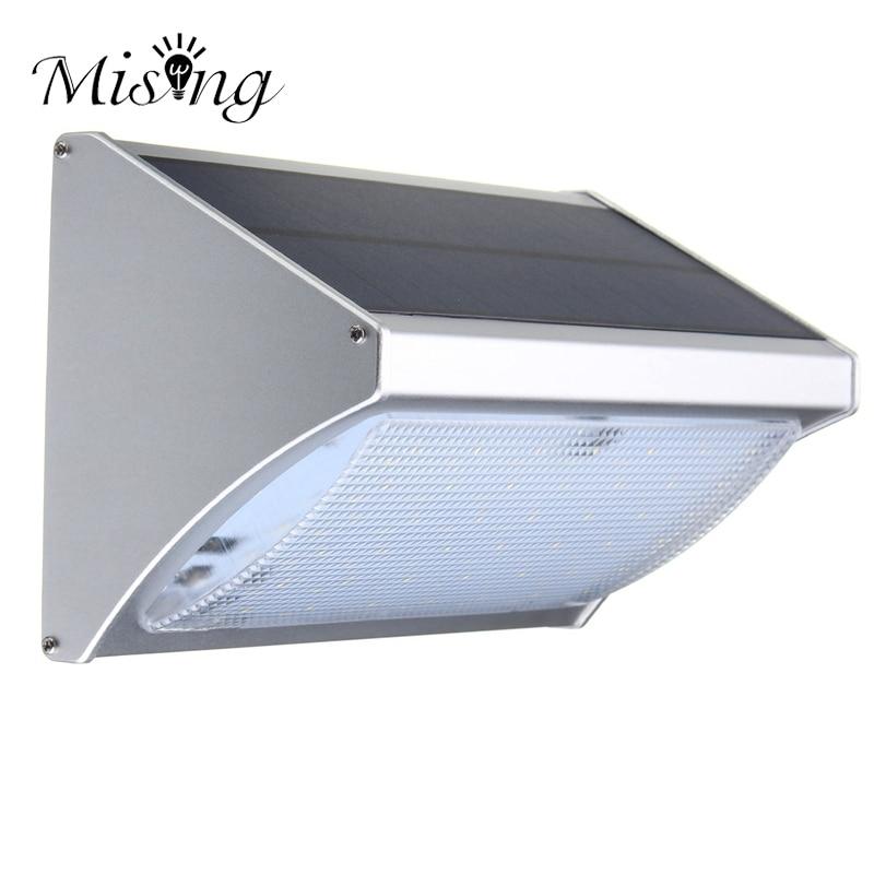 Mising 2835 smd LED Garden Light Waterproof 56 LED Solar Light Outdoor Solar Power Motion Sensor Security Wall Lamp
