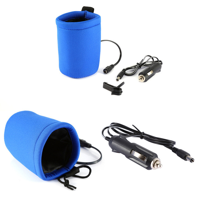 Portable DC 12V in Car Baby Water Bottle Heater Portable Food Milk Travel Cup Warmer Heater Covers Universal