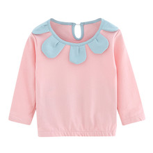 Toddler Kid Baby Girl Clothes Long Sleeve Flowers Pullover T-shirt Tops baby girl tops shirt 2019 New oddler Blouse a523