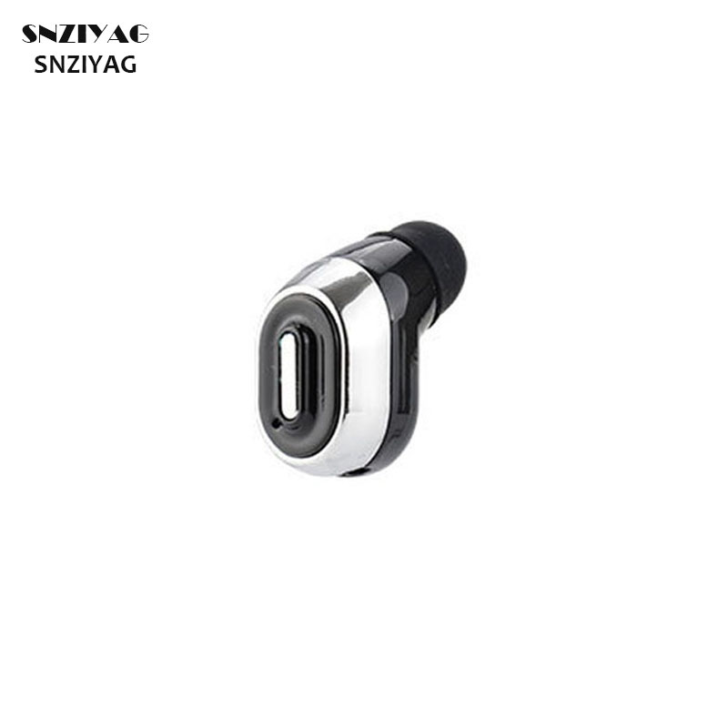 SNZIYAG MINI Bluetooth Wireless Earphones Sport Running Stereo Invisible Earbuds With Microphone Earphone Headset For iPhone