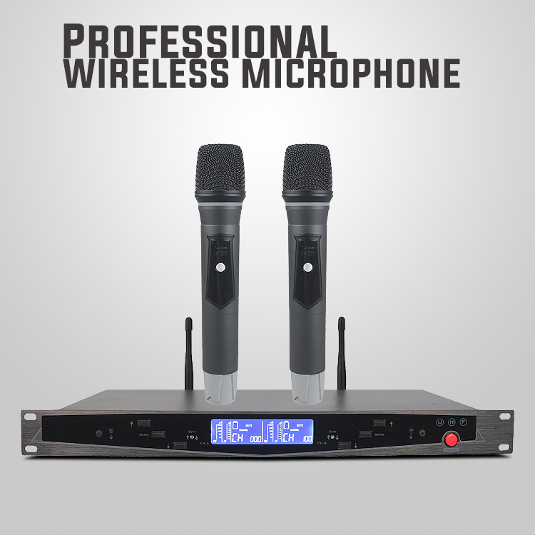 Professional UHF Wireless Microphone U-2015 with PLL Digtal Display for KTV Singing Speech Teaching Outdoor Wedding  StageProfessional UHF Wireless Microphone U-2015 with PLL Digtal Display for KTV Singing Speech Teaching Outdoor Wedding  Stage