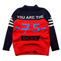 Children Boy Sweaters Thick Cotton Autumn Boy Infant Outfit Toddler Tops Kids Boys Crochet Winter Children Clothes 2016 Hot