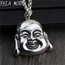 FYLA MODE 100 Real 925 Sterling Silver font b Necklace b font font b Pendant b