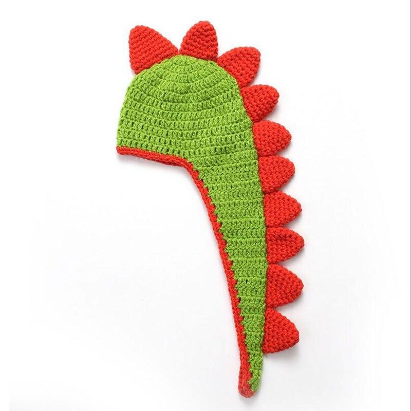 2017 new Retail Baby Crochet Dinosaur Hat baby Newborn Baby Photo Props Kids Knitted Animal Hats Beanies Handmade Caps newborn photography prop crochet hats handmade baby costume knitted beanies hat caps