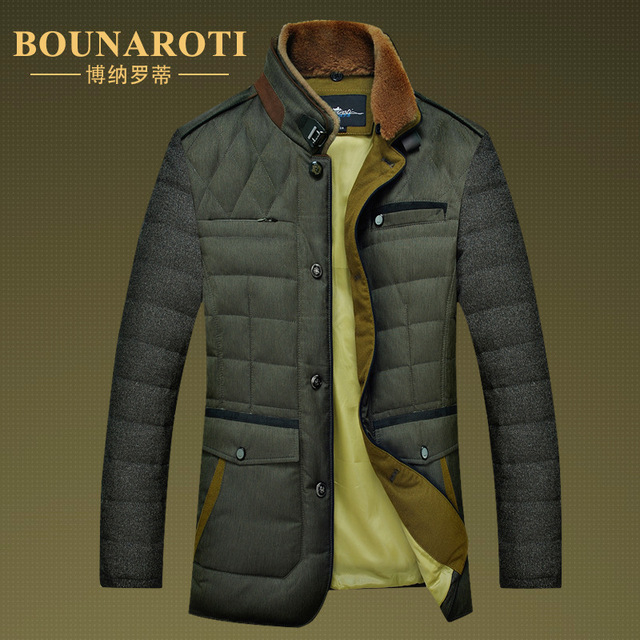 2014 brand new men's winter jacket coat thicker stitching 2 colors size M ~ XXXL free shipping