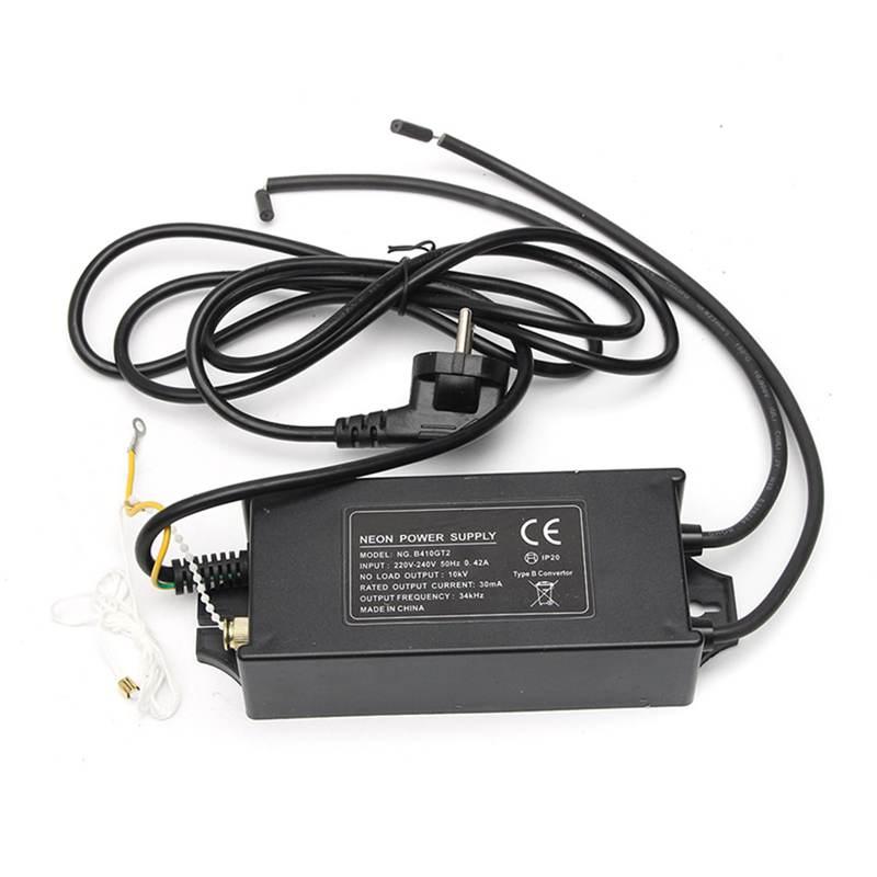 10000V 10KV 100W Electronic Flexible Neon Transformer Power Supply Adapter Rectifier 30mA 220-240V 2 w p w v p10000 10000 waka ddc12