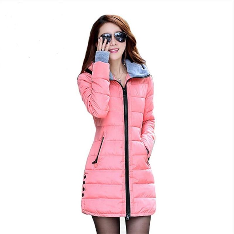 2019 New Windproof Waterproof Winter Jacket Women Coat Female Padded Coat Long Section Women Coat Windbreaker   Parka   M-4XL