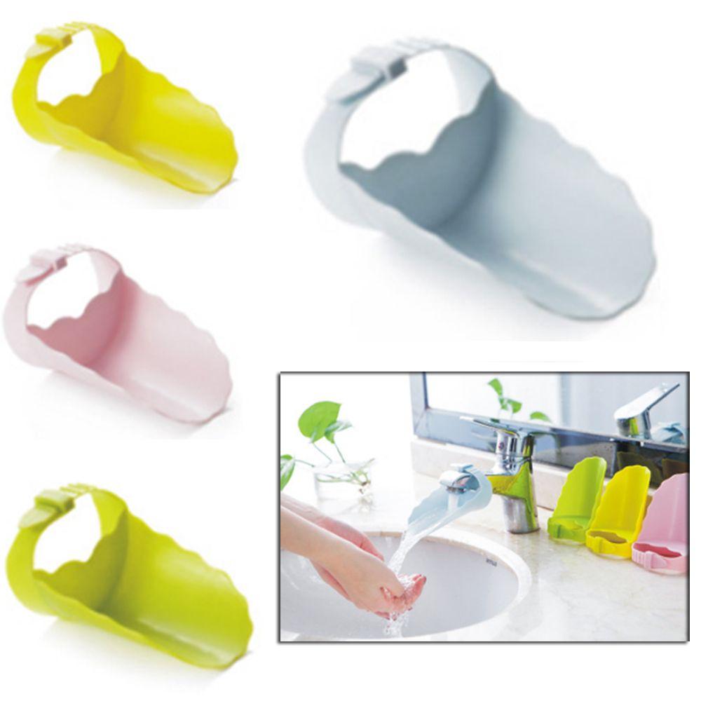 Faucet Tap Extender Children Toddler Kids Hand Washing Bathroom Sink ...