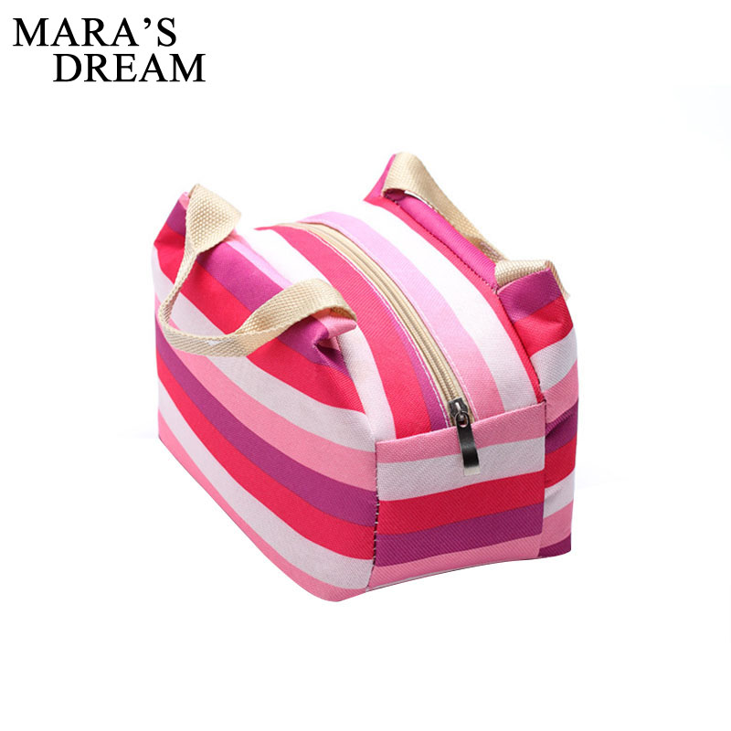 Mara's Dream  Portable Oxford For Women Kids Snack Lunch Box Carry Tote Storage Bag Travel Cooler Picnic Food Pouch