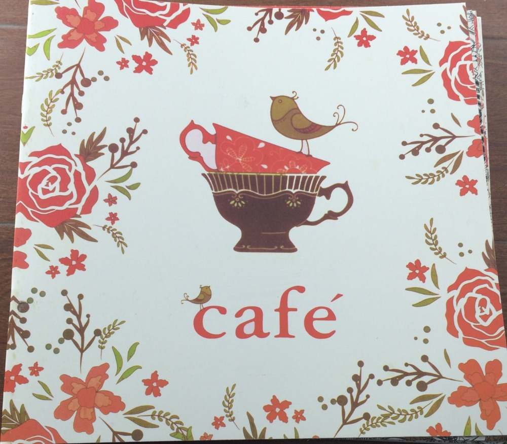 Online Shop English Edition CAFE 24 Pages Secret Garden Styles Coloring Book For Adult Relieve Stress Painting Drawing Books