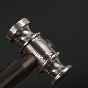 Handmade Damascus mini Hammer