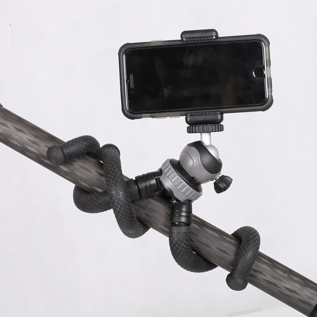 RM-30 tripe de Viagem Ao Ar Livre Mini Octopus Tripé flexível Bracket Suporte Para Câmera Digital de telefone