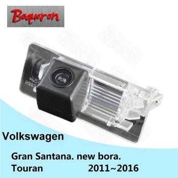 For Volkswagen VW Gran Santana new bora Touran 2011~2016 Backup Reverse Parking Camera HD CCD Night Vision Car Rear View Camera фото