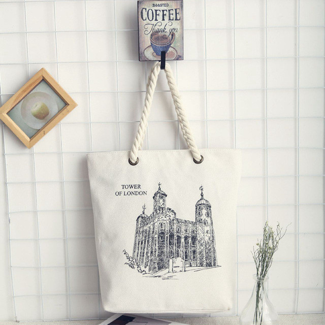 Women's High Quality Canvas Handbag – Several Prints Available