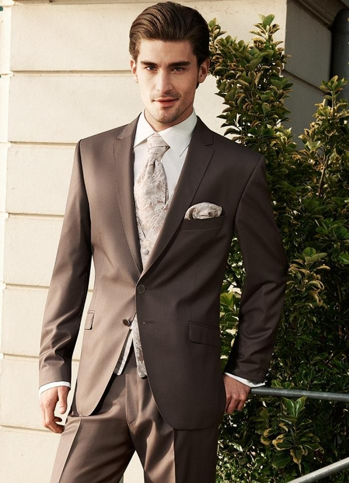 Brown Wedding Suit Hire - Ocodea.com