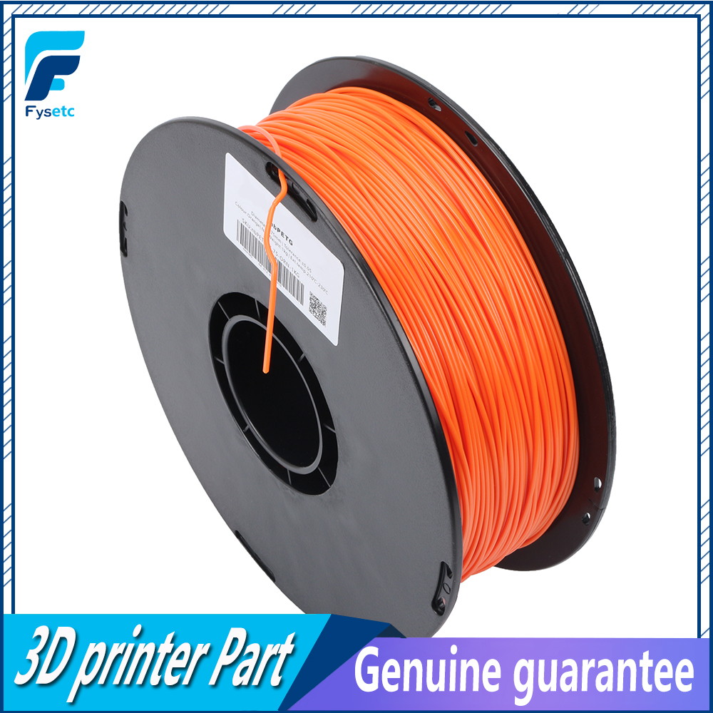 1.75mm 1kg/2.2lbs PETG Filament Top Quality Orange Color Printing Materials 1.75 PETG Filament VS ABS/PLA For 3D Printer/3D Pen abs filament 1 75 in yellow color 1kg