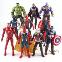 Marvel Avengers Figure Hulk Iron Man Captain America Spiderman Thanos Vision Falcon Thor Winter Soldier Action Legends Toy boy