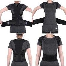 Adjustable Back Posture Corrector Belt Support Spine Pain Relieve Shoulder Lumbar Back Support Posture Corrector Belt For Adult
