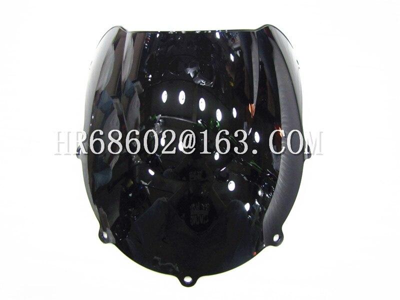 For Suzuki GSXR 600 750 R SRAD Gsxr 600 750 R 1996 1997 1998 1999 96 97 98 99 Black Windshield WindScreen DoubleBubble