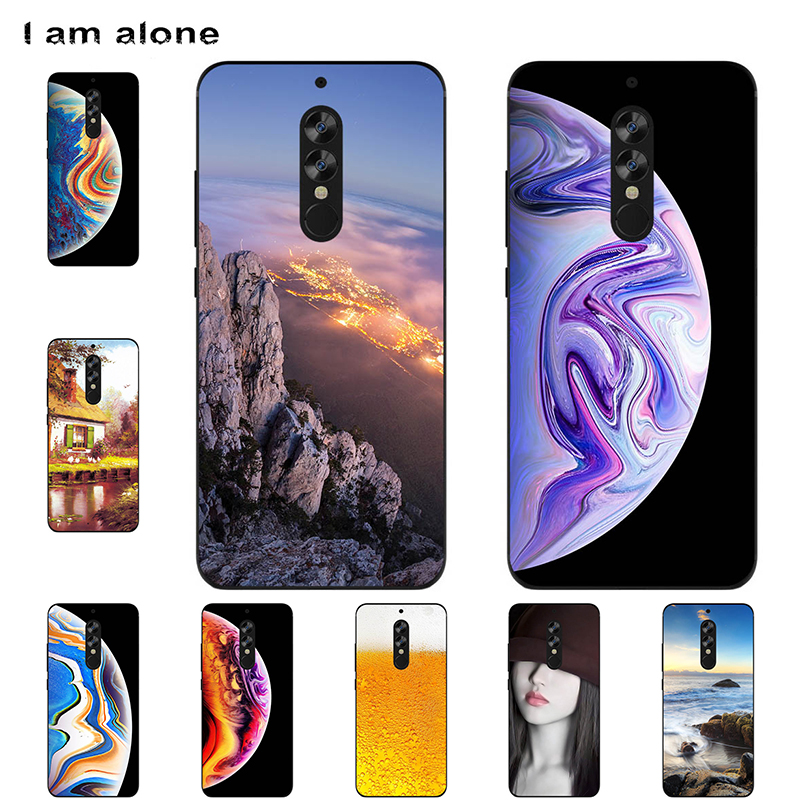 I am alone Phone Bags For UMIDIGI S2 S2 Pro S2 Lite 6.0 inch Soft TPU Mobile Fashion Printed For Umidigi S2 Cases Free Shipping