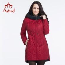 Астрид 2016 зимняя куртка свободного покроя мода женщины парка высокого качества женщина с капюшоном пальто бренд парка Большой размер 5XL ...(China (Mainland))