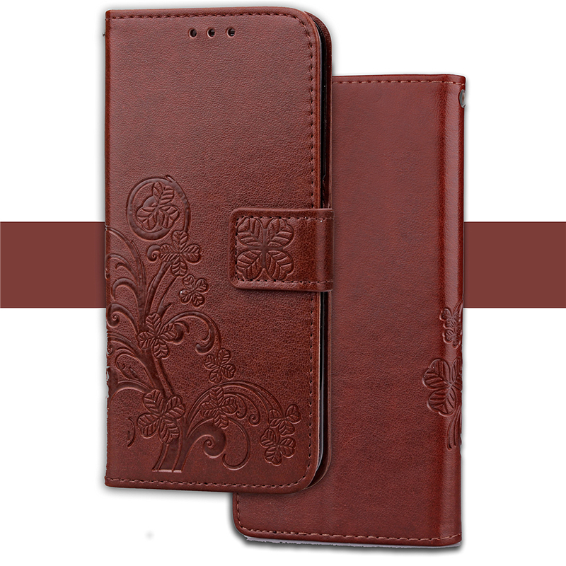 3D Clover Flower Case For LG Nexus 5 / 5X Flip Wallet PU Leather Phone Case For Google Pixel / Pixel XL Hoesjes Coque