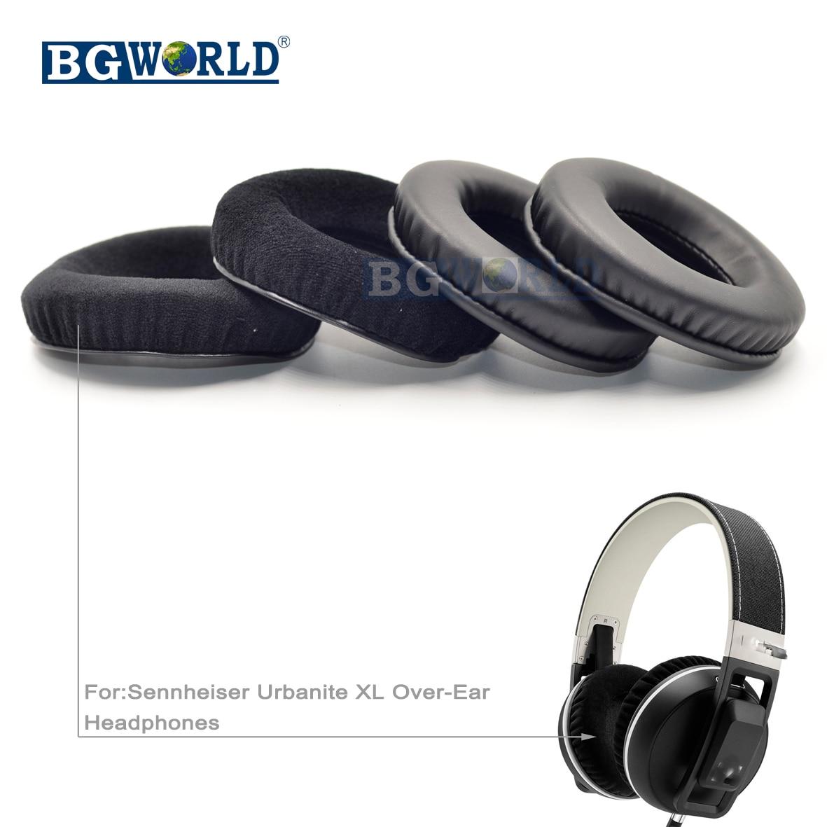 08792ef75fb BGWORLD Replacement cushion ear pads pillow EARPADS for Sennheiser URBANITE  XL WIRELESS Over ear headset headphones sponge-in Earphone Accessories from  ...