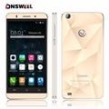 Gooweel original m5 pro smartphone mtk6580 quad core 5 pulgadas IPS pantalla 5MP + cámara de 8MP GPS 3G WCDMA del teléfono móvil celular teléfono