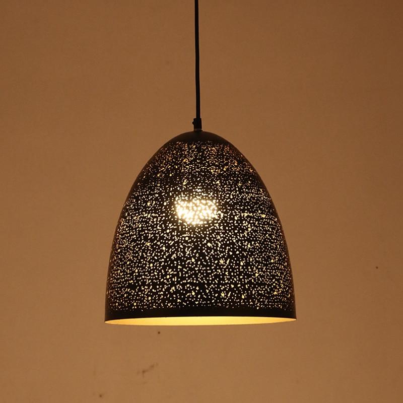 ФОТО Modern simple LED Pendant light etching lampshade Toolery hanglamp E27 lamp holder nodric black white green droplight 5W lamp