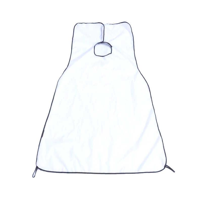 Y & W & F 男性のひげエプロン浴室エプロン男性の髭シェービング使用シェービングエプロン防水シンク清掃保護ラップ 120 × 80 センチ