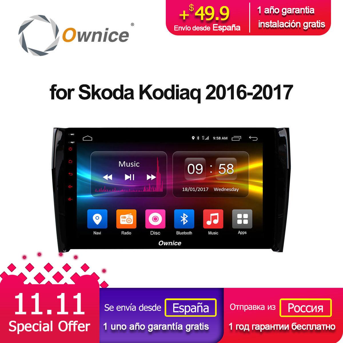 Ownice c500+ G10 10.1 Android 8.1 Octa Core 2GB RAM car dvd gps For Skoda Kodiaq 2016 2017 Support 4G SIM RDS DAB+ Carplay ownice c500 4g sim lte octa 8 core android 6 0 for kia ceed 2013 2015 car dvd player gps navi radio wifi 4g bt 2gb ram 32g rom