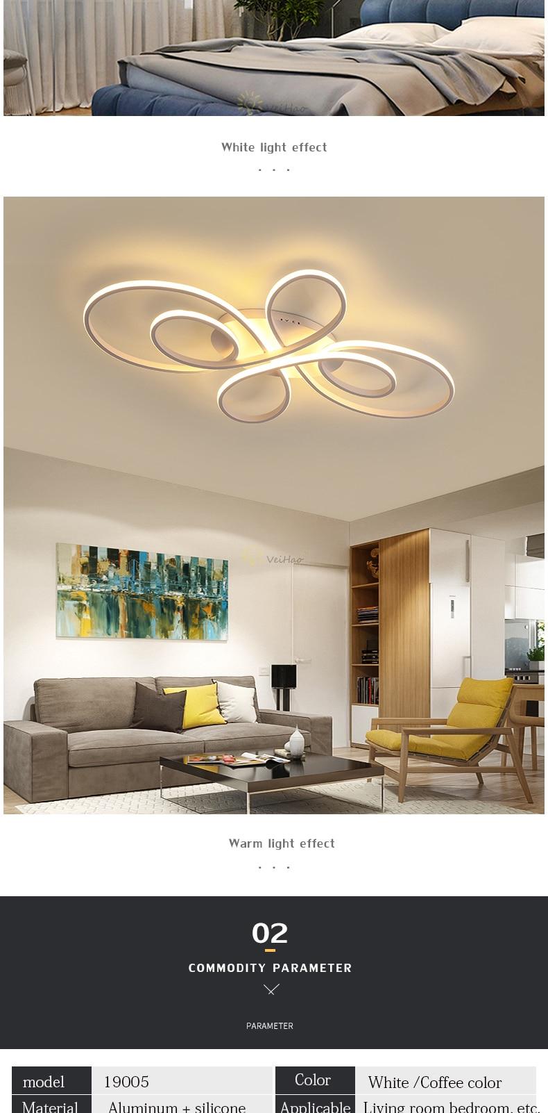 HTB1BSJka8WD3KVjSZFsq6AqkpXaA Modern LED ceiling Lights dimmable living room dining room bedroom study balcony aluminum body home decoration ceiling lamp