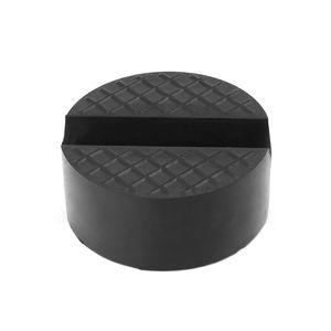 Image 3 - Siyah V oluk araba Jack kauçuk ped kaymaz ray koruyucu destek bloğu İçin ağır hizmet tipi araba asansörü