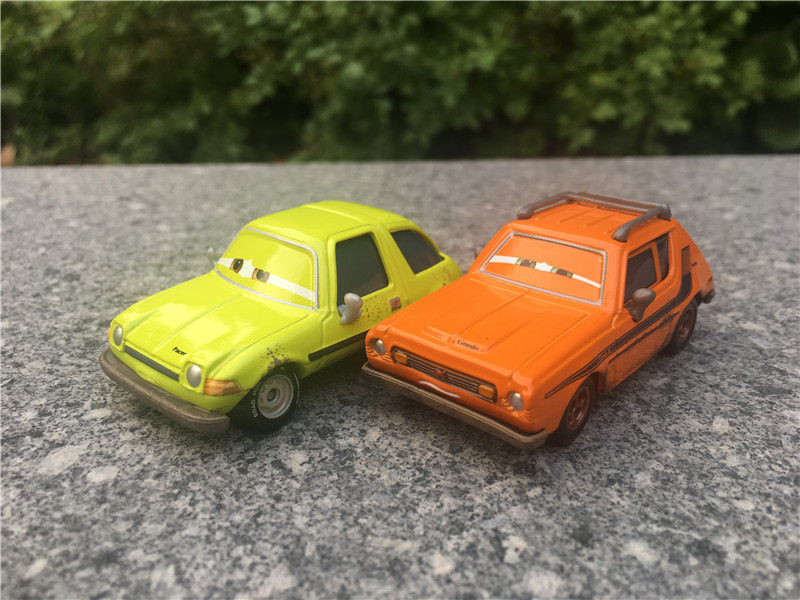 Disney Pixar Cars Metal Diecast 1:55 Grem and Acer in Trouble 2pcs Toy Cars New No Package haptic information in cars