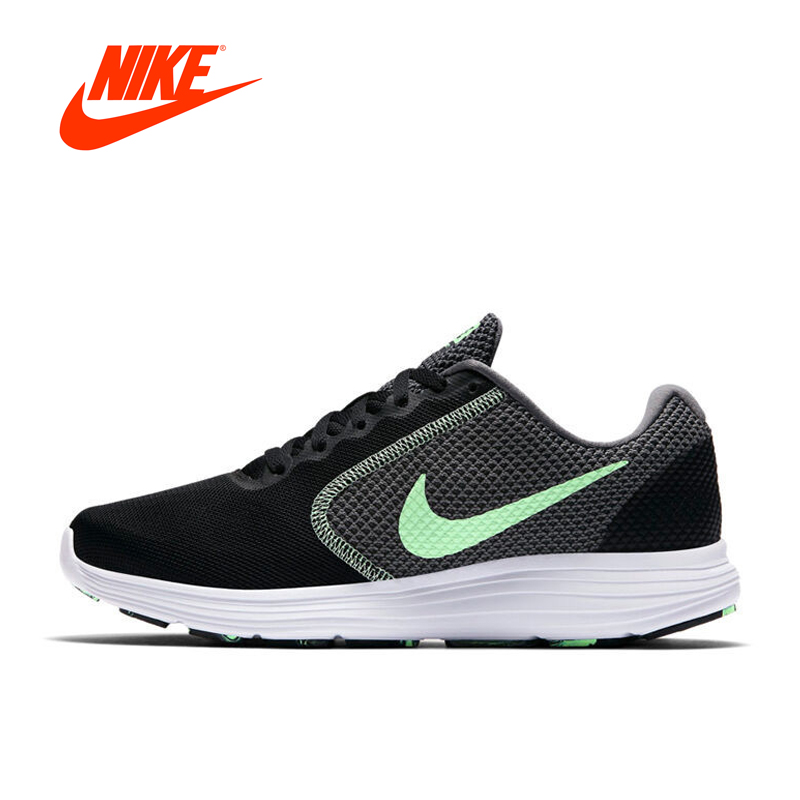 Original New Arrival Official Nike Breathable WMNS REVOLUTIONS 3 Women's Running Shoes Sports Sneakers сникеры nike сникеры wmns nike court borough mid