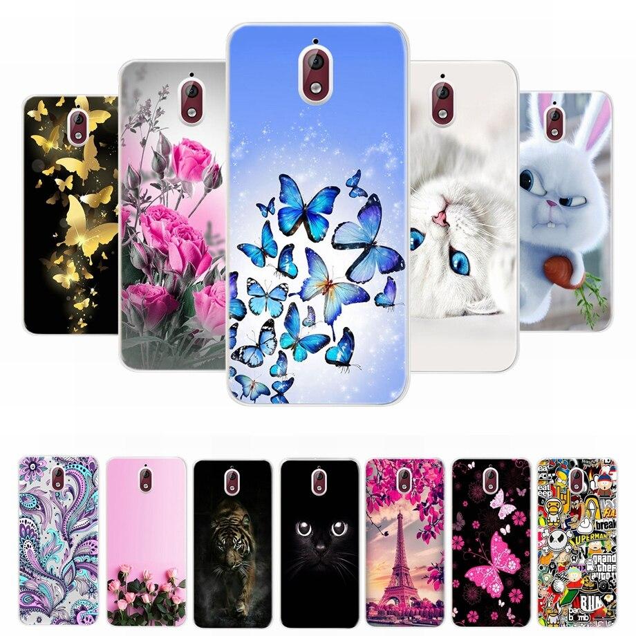 For Nokia 6 2018 Case Nokia 6.1 Case Soft TPU Cover for Nokia 2 3 5 6 2018 Nokia 3.1 6.1 Case Phone Cover Coque Bumper Housing